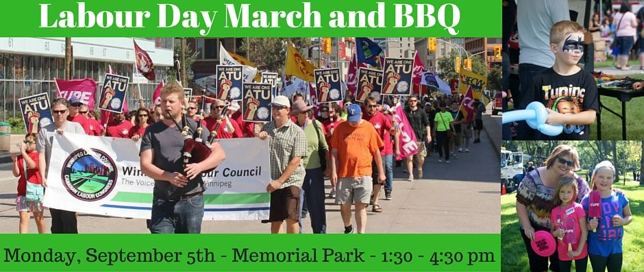 2016 Labour Day March and BBQ